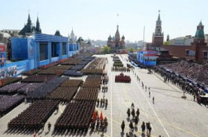 9 mei 2015 parade Moskou